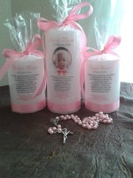 Baptism Candle Set