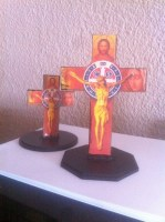 Wooden Benedict Cross 15cm