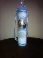 Baptism Candle 70mm x 240mm