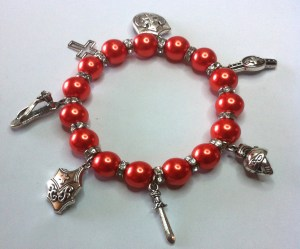 Full Armour of God - Colour Pearl Bead