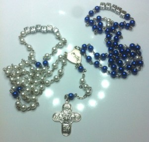 Personalised Wedding Unity Rosary
