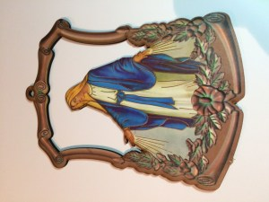 Immaculate Conception hanging icon